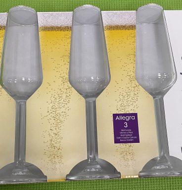 Champagne Glass Set